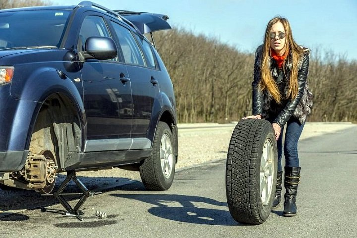 Replace tire