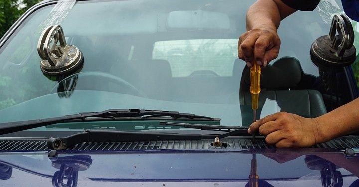 install a windshield
