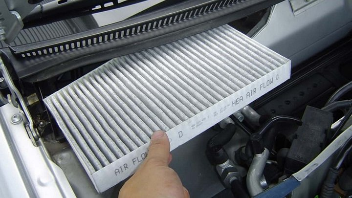 Get out old Cabin Air Filter