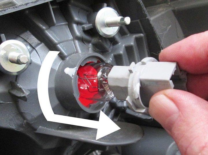rear headlight repair
