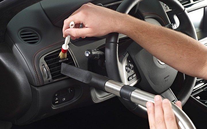 Regular car cleaning