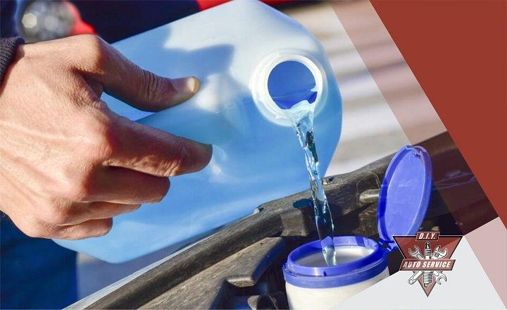 Add Windshield Washer Fluid c