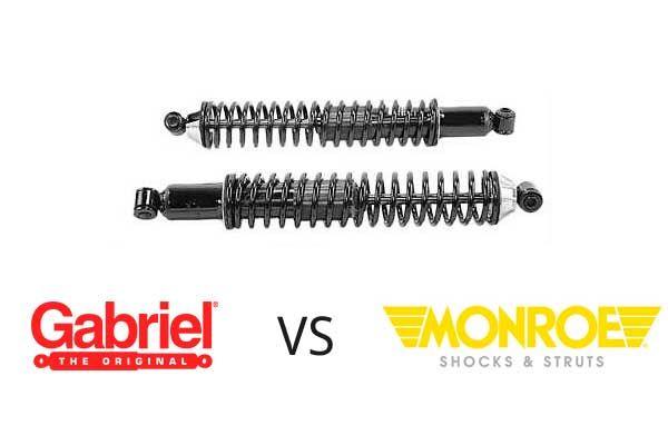 Monroe vs Gabriel shocks and struts comparison