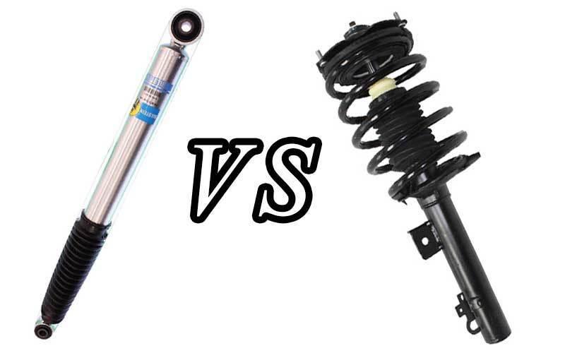shock absorbers vs struts
