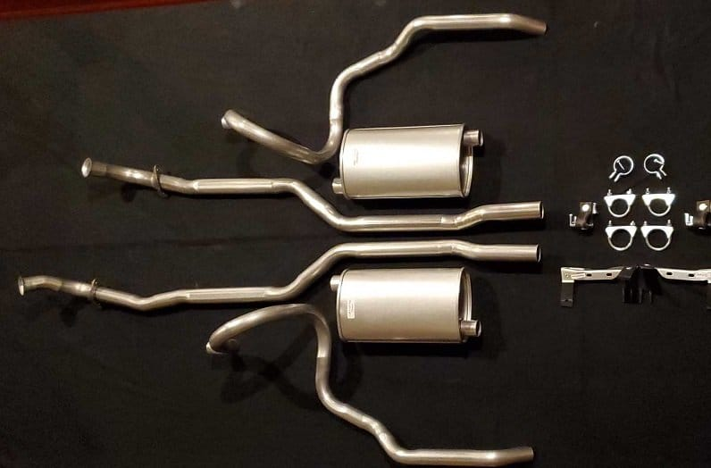 exhaust performance kit
