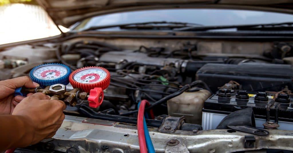 overcharged car ac