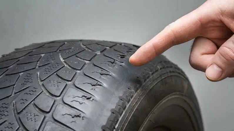 under inflated tire wear