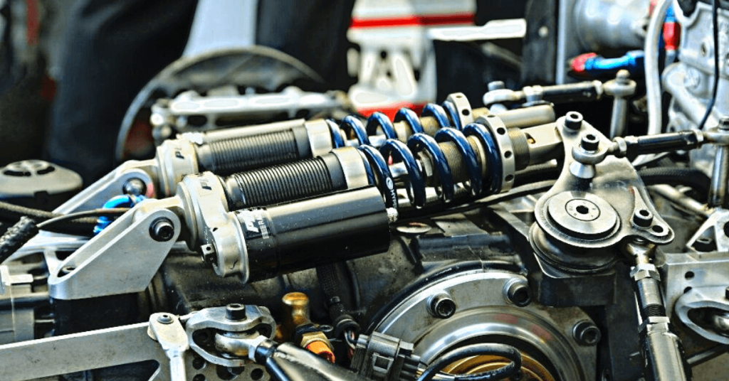 adjusting vehicle's suspension