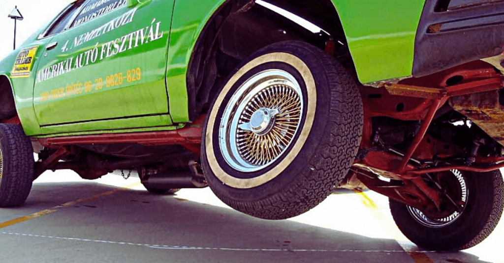 stiffer suspension prevents tire wear