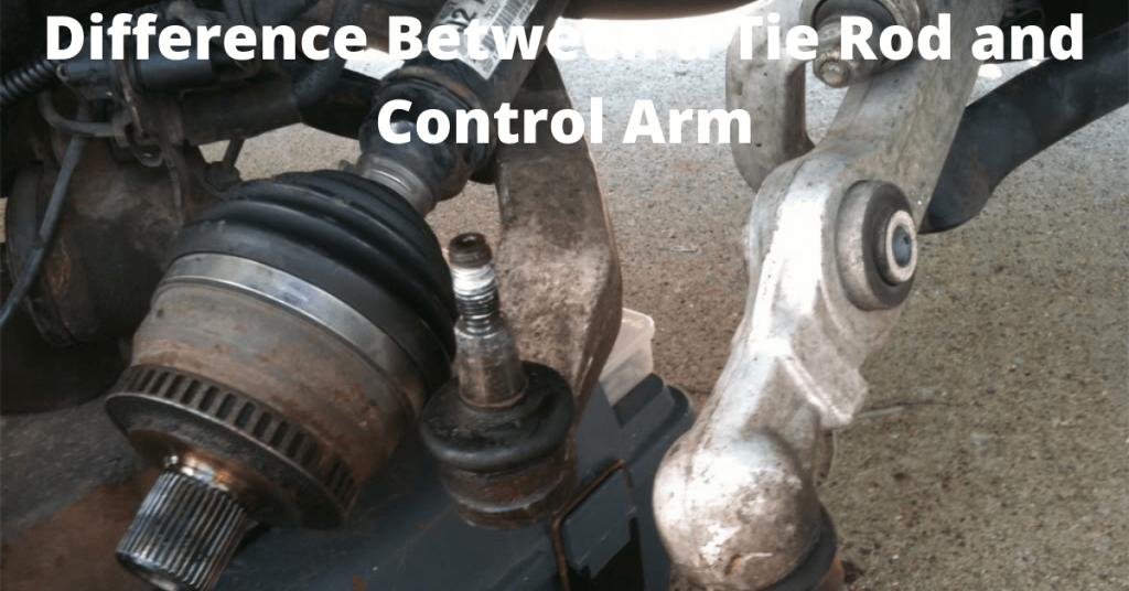 tie rod vs control arm