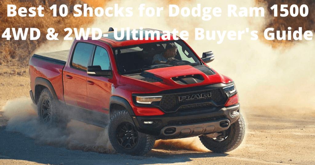 best shocks for dodge ram 1500