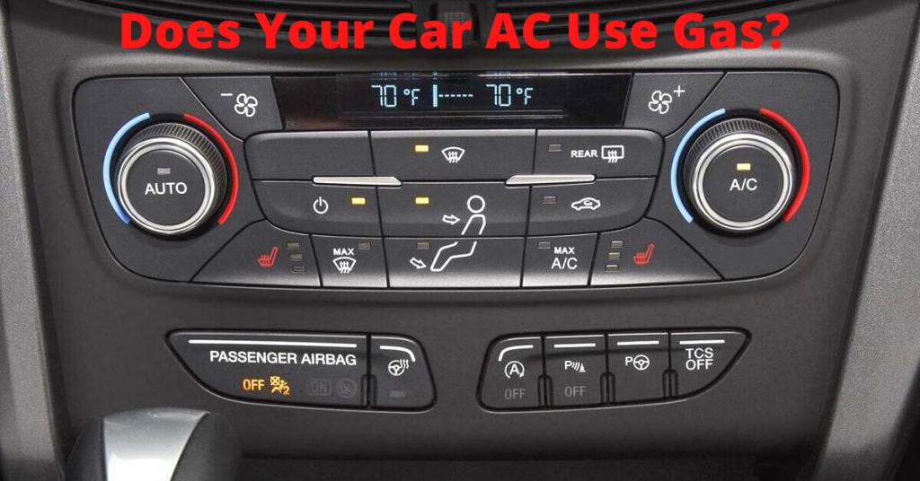 car ac gas consumption