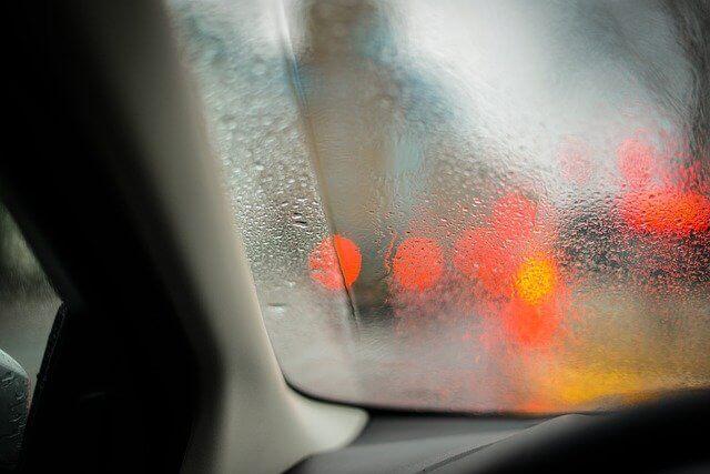 moisture in a car