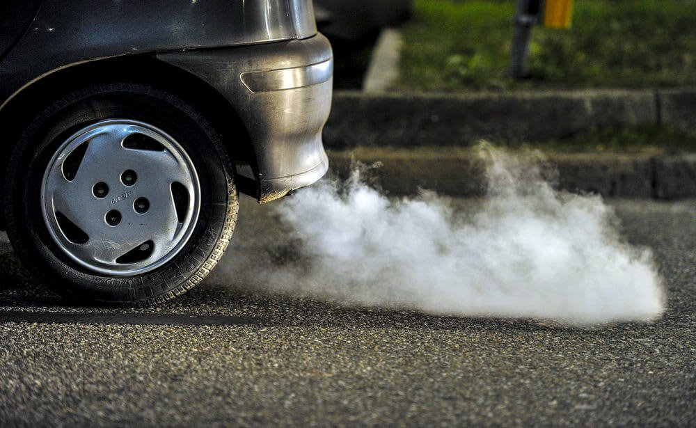 exhaust fumes nasty smells